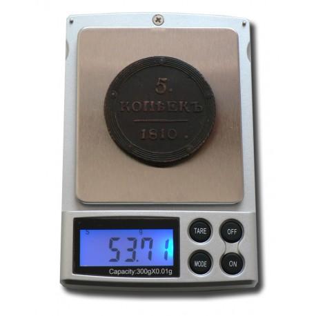 Весы портативные электронные 0,01 -300 гр